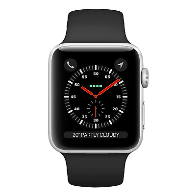 Apple Watch Series 3 38mm Stainless Steel Silver GPS + Cellular