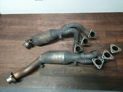 01 06 Bmw E46 M3 S54 Oem Exhaust Manifold Headers With Catalytic Converters