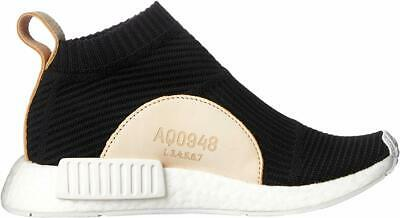 7be60d306 Adidas Men s AQ0948 NMD CS1 PK - Primeknit Boost Black Tan - City Sock