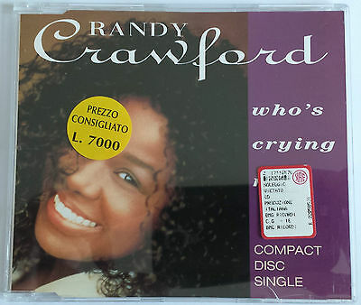 Randy Crawford Who's Crying Now CD Single