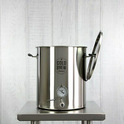 Stainless Steel Cold Brew Coffee System - 15 Gallon