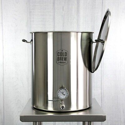 Stainless Steel Cold Brew Coffee System - 30 Gallon