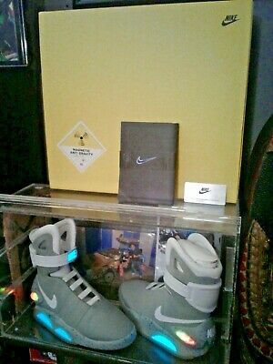 Back To The Future 2011 Original NIKE MAG Shoes Authentic Anti Gravity Box Rare