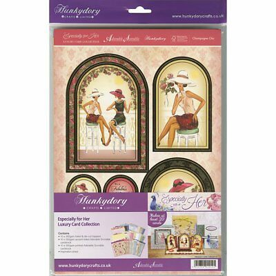 New & Sealed Hunkydory Especially For Her Luxery Card Collection