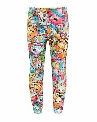 Shopkins Collage Girl's Leggings Children's Clothing Trousers Fashion Kids