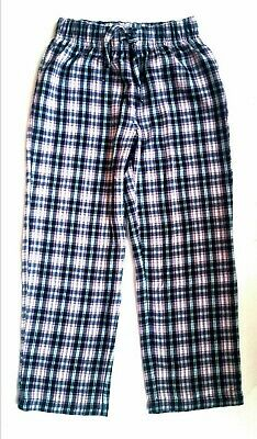 GAP Kids Girls NAVY PINK Check P J Pants Pyjamas Bottoms Nightwear 4y 6y £14.95