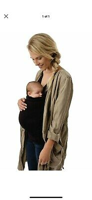 679990ea2 SOOTHE SHIRT LALABU Black Size Small S Baby Wearing Maternity ...