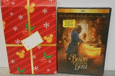 Beauty and the Beast (DVD, 2017) DISNEY BRAND NEW W GIFTBOX