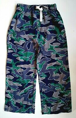 GAP Kids BOYS Camo GREEN Print P J Pants Pyjamas Bottoms Nightwear 4-9y £14.95