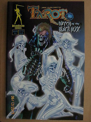 Broadsword Comics Jim Balent's Tarot Witch Of The Black Rose #4B Golightly Cover