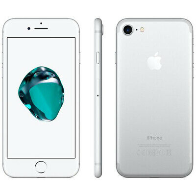 Apple iPhone 7 32GB GSM Unlocked - Silver Smartphone A1778 32 GB Cell Phone 4G