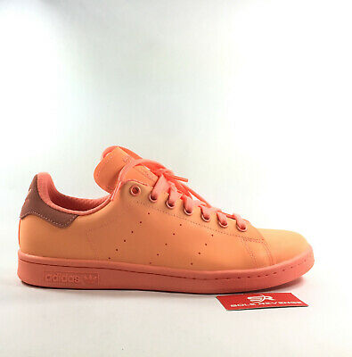 e9584b4aaa75 9 New adidas Originals STAN SMITH REFLECTIVE 3M Red Peach S80251 Shoes x1