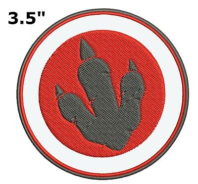 Jurassic Park World Dinosaur Iron or Sewn-on Embroidered Decorative Patch