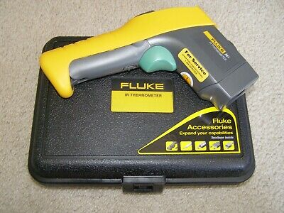 NEW Fluke 561 Infrared and Contact Thermometer w/Thermocouple Full kit HARD CASE