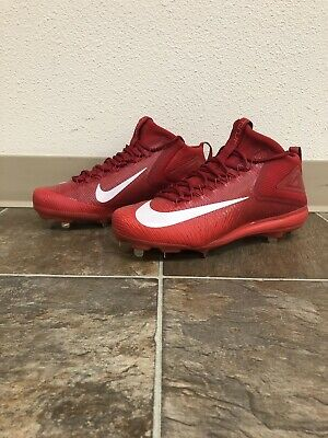 4c9826f861b NIKE FORCE ZOOM Mike Trout 3 Mens Baseball Cleats 856503-667 Red Sz ...
