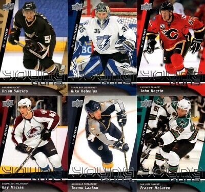 2009-10 Upper Deck Young Guns PICK YOUR SINGLES LOT WOW FLAT SHIPPING RATE
