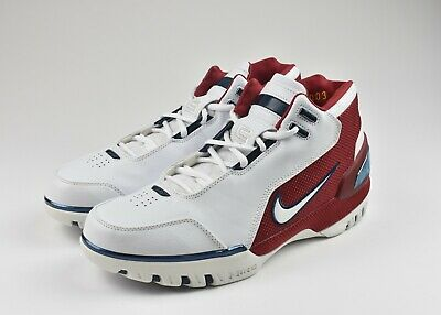 7f627aae29a9 Nike Air Zoom Generation Lebron James First Game Dead Stock Sz 10 308214-112