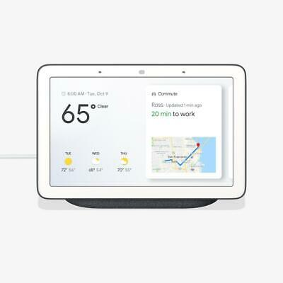Google Home Hub with Google Assistant GA00515-US - Charcoal - FACTORY SEALED