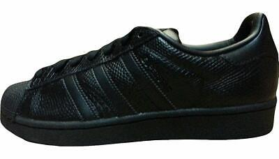 new product 40900 61be6 Adidas Mens Superstar 80s Clean Shoes S85273 BlackBlack