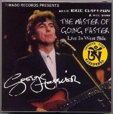 GEORGE HARRISON with Eric Clapton - THE MASTER OF GOING FASTER 6 CD BOX, LIMITED