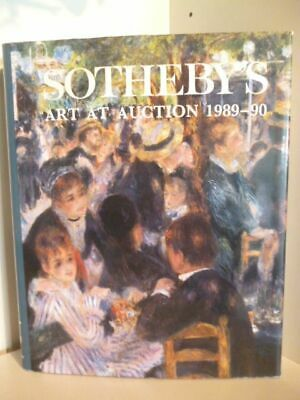 Sothebys Art at Auction 1989-90 Editor, Sally Prideaux