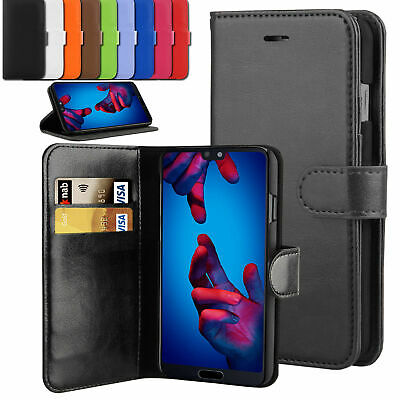 For Huawei P Smart 2019 / Honor 10 lite PU Leather Book Wallet Phone Case Cover