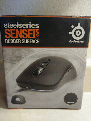 2ad6b2b0f1d STEELSERIES SENSEI LASER Gaming Mouse RAW - Rubberized Black ...