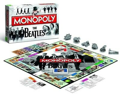 Monopoly The Beatles Edition Board Game