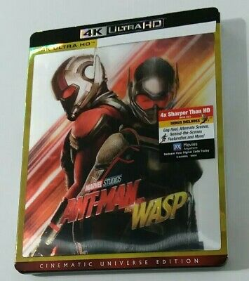 Ant-man And The Wasp (4k Ultra HD disc only) W/ Lenticular Slipcover