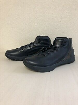 e72f295ebdb7 Under Armour Curry 3 Lux Limited Edition Leather Basketball Shoes Men s Sz  11