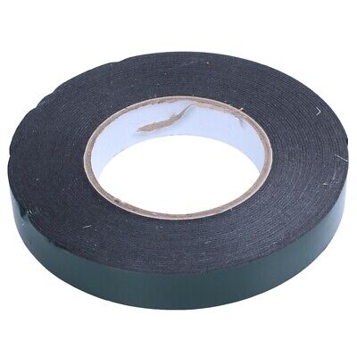 4X(20 m (20mm) Double Sided Foam Tape Sponge Tape Waterproof Mounting Adhe C7I9)