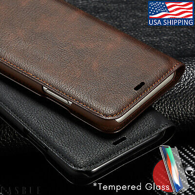Magnetic Leather Wallet Case For iPhone XR XSMAX Wallet Slot For iPhone 6/6S/7/8