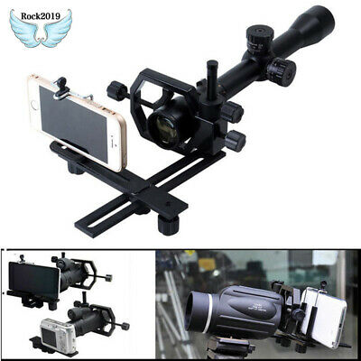 Tripod Head Holder Support Mount Adapter Camera Phone Attach Spotting Scope