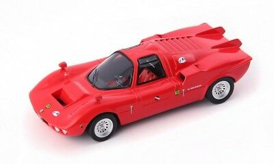 Autocult 05026 1971 FNM Alfa Romeo Furia GT ROUGE BRESIL 1:43 Limited Edition