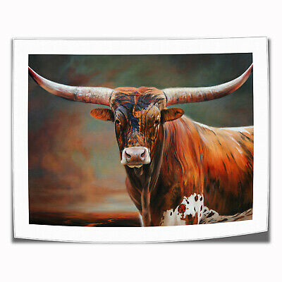 """16""""x22"""" Cow Poster Home Decor Room HD Canvas Print Pictur Wall Art Painting"""
