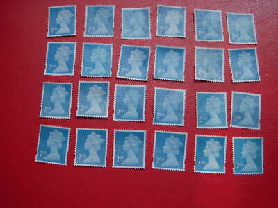 1000 x 2nd Class Royal Mail Stamps; Unfranked, No Gum, Off Paper Face Value £580
