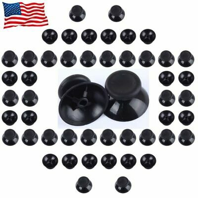 50pcs Analog- Thumbsticks Thumb Stick Joystick Cap Grip For Xbox 360 Controller