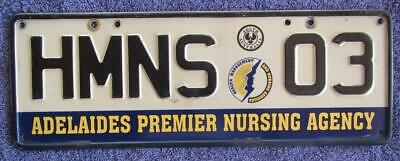 Corporate Sa License/number Plate # Hmns-03