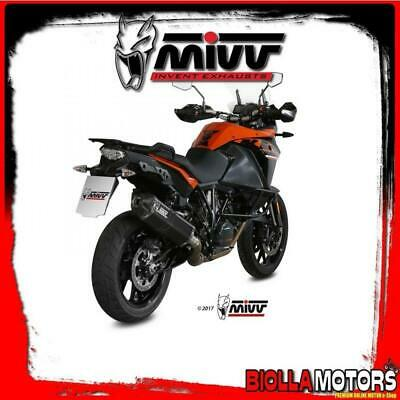 Kt.017.Lrb Terminale Mivv Ktm 1050 Adventure 2016- 1050Cc Speed Edge Inox Dark/C