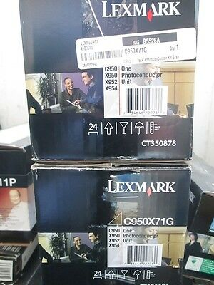 Genuine Lexmark C950X71G Photoconductor Unit C950 X950 X952 X954 Series *Opened*