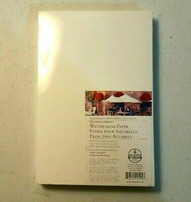 Bee Paper Cold Press 140 Pound Watercolor Paper Pad 11-Inch by 15