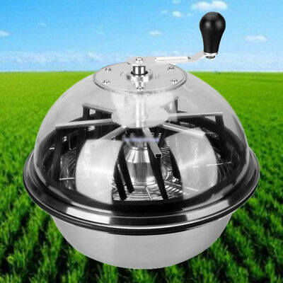 Hydroponic 16'' Stainless Steel Bowl Leaf Trimmer Twisted Spin Cut Bud Hush Grow