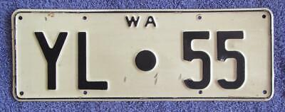 Yilgarn Shire License/number Plate # Yl.55