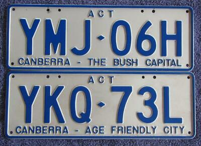 Act Slogan License/number Plates
