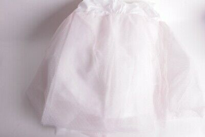 New Pottery Barn Kids Rachel Ashwell Baby Blush Tulle Crib Skirt, Pink