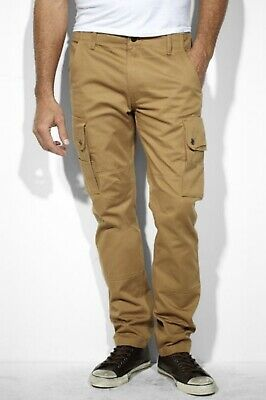 a596bc1dc38 NWT Mens Levis Slim Tapered Cargo Pant Stretch Graphite Many Sizes MSRP  $69.50 Men's Clothing