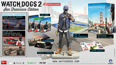 Watch Dogs 2: San Francisco Edition Collectors Edition PS4 Playstation 4 NEW