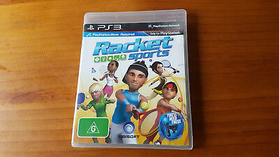 Racket Sports PS3 Sony Playstion 3 Game