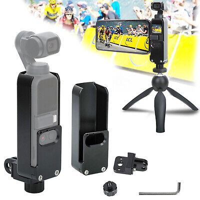CNC Aluminum Alloy Protective Housing Shell+Base For DJI OSMO Pocket Accessories