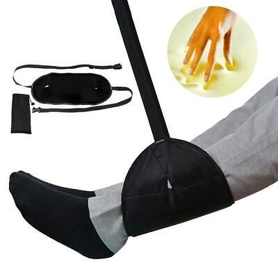 Comfy Hanger Travel Footrest Hammock Foot Made with Premium Memory Foam New
